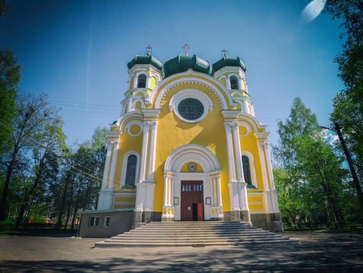 Cathedral of St. Paul the Apostle in Gatchina