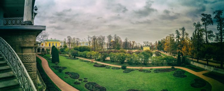 Old (Dutch) garden in Catherine Park - Tsarskoe Selo