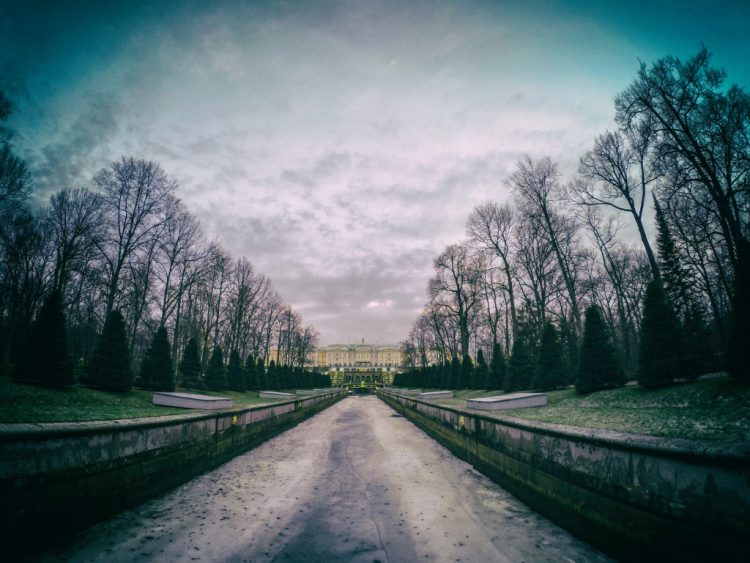 The Lower Park of Peterhof - 1 Jan 2017