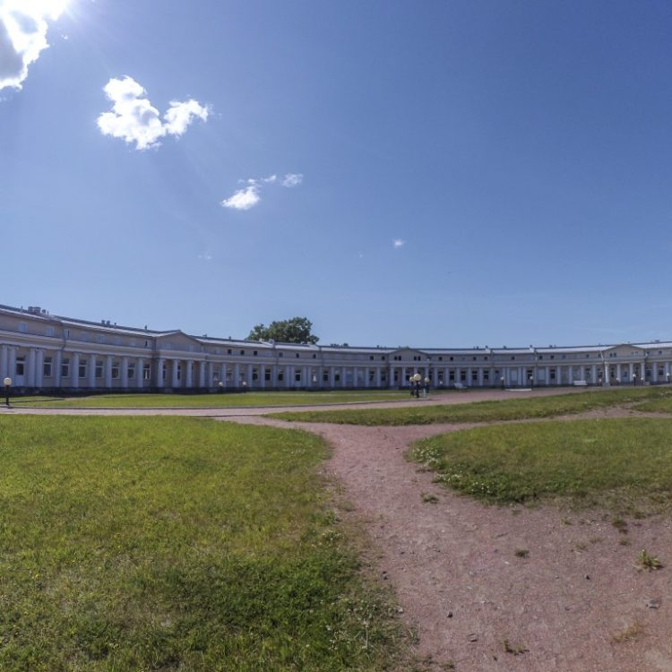 Belvedere Palace in Peterhof