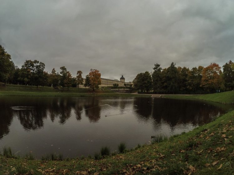 Autumn views of the Palace Park in Gatchina