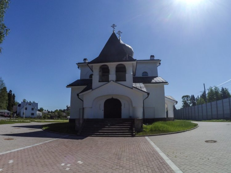 The Church of the Saints Apostles Peter and Paul in the Dibuny