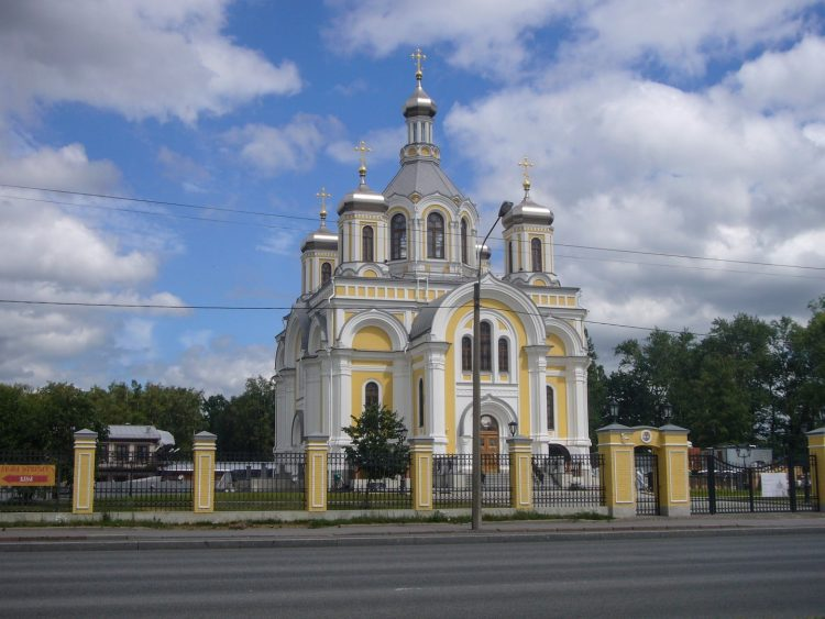 The Church of the Holy Trinity in the Mission of the John the Theologian Cheremenets Monastery