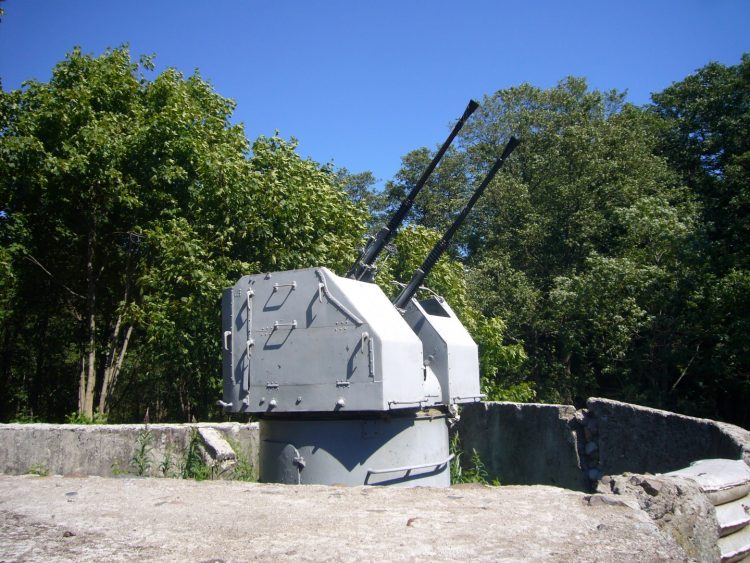 Mortar battery N1