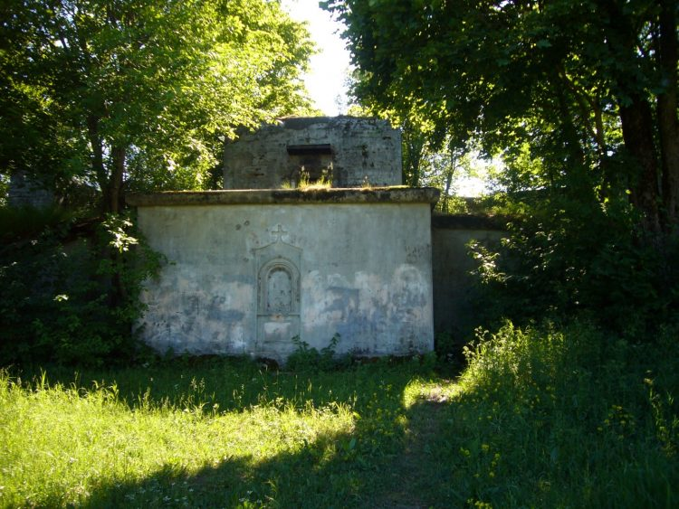 Schantz fort in Kronstadt - Gun batteries