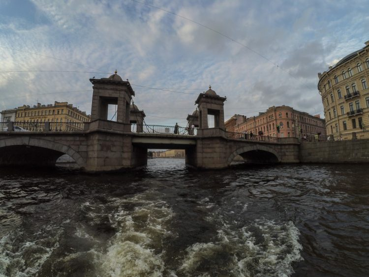 The Lomonosov Bridge