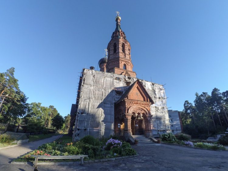 The Church of the Holy Trinity of the Life-giving - Gora-Valdai
