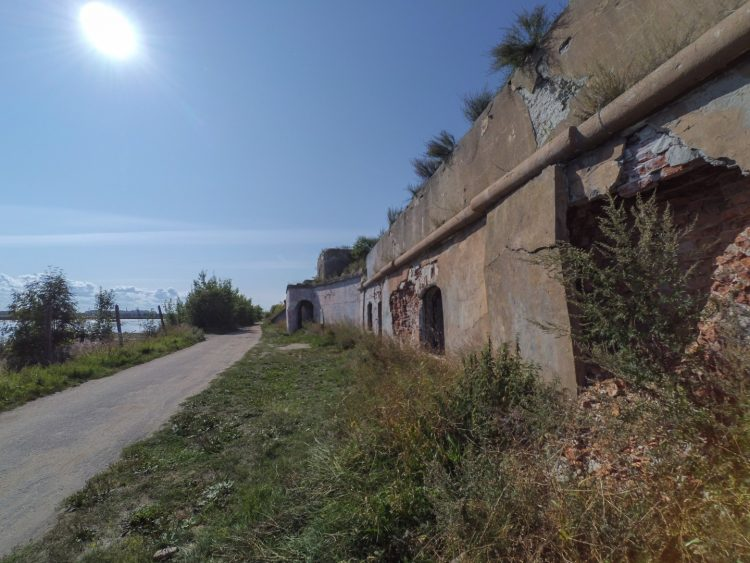 The 1-st Northern Fort - Barracks