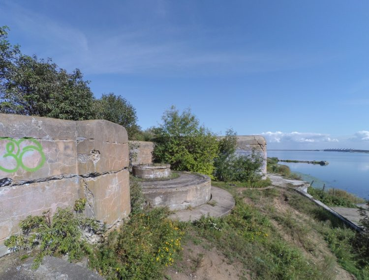 The 1-st Northern Fort - The 1-st Northern battery