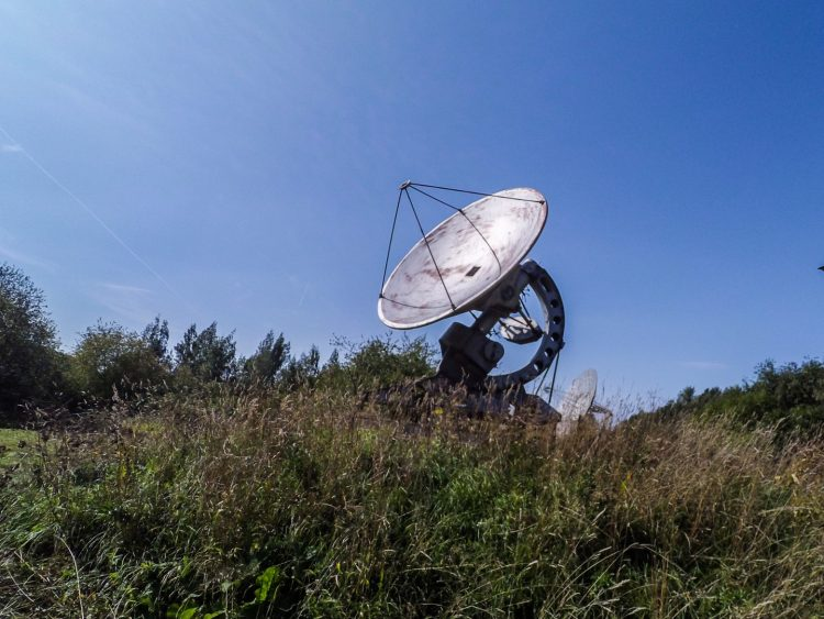 Small radio telescope